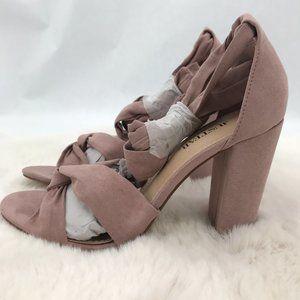 JustFab Acacia Strappy Sandals: Blush | Size 7